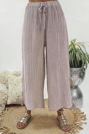 The Sahara Sexi Split Pant Washed Blush *