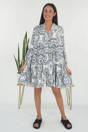 The Sander Smock Dress White