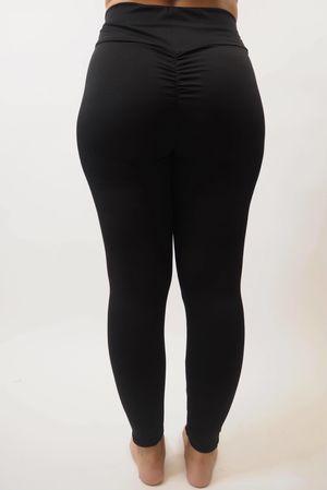 The Scrunchy Bum Active Legging Black