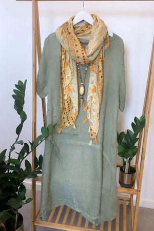 The Seams Perfect Dress Khaki