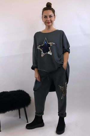 The Sequin Star Co-Ord Slate
