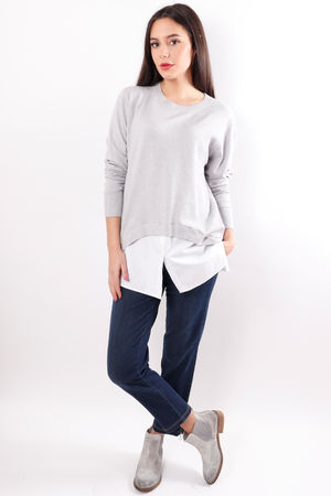 The Shirty Knit Grey