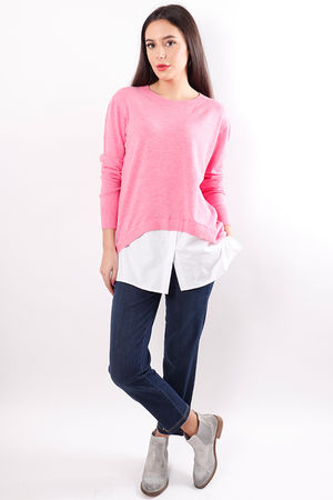 The Shirty Knit Pink