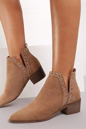 The Sienna Ankle Boot Tan