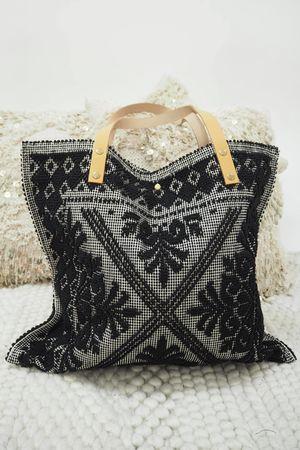 The Souk Bag Black
