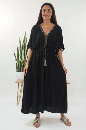 The Souk Maxi Dress Black
