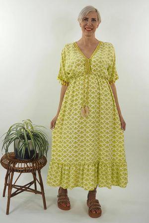 The Souk Maxi Dress Lime