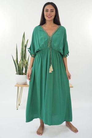 The Souk Maxi Dress Plant
