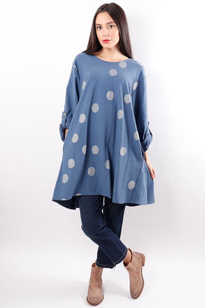 The Spotty Dotty Tunic Denim