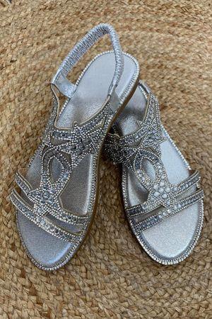 The Starella Sandal Silver
