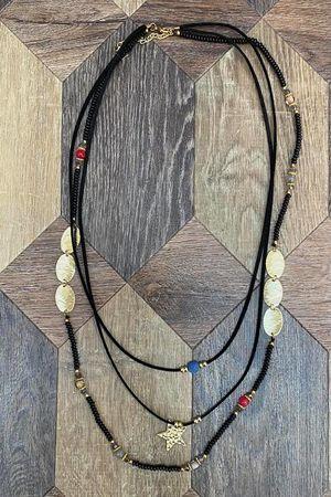 The Starlight Necklace Black