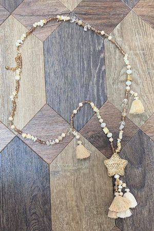The Stella Necklace Neutrals