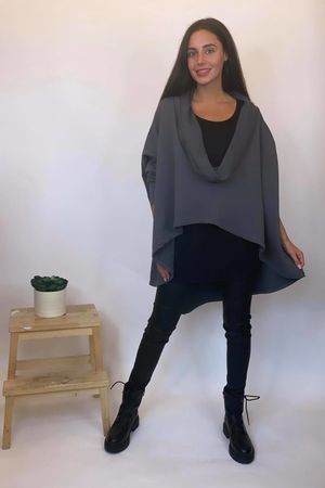 The Super Cowl Top Layer Graphite