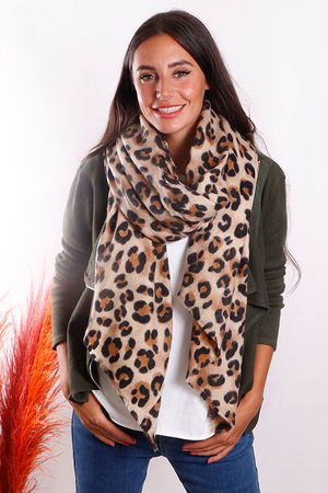 The Super Soft Leopard Scarf