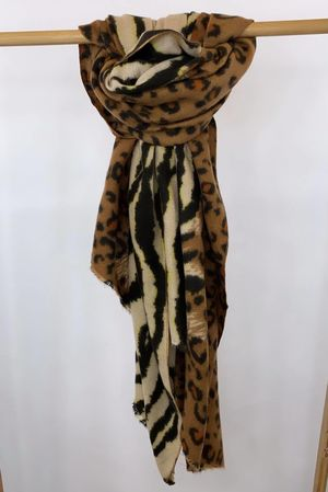 The Super Soft Mixed Animal Scarf