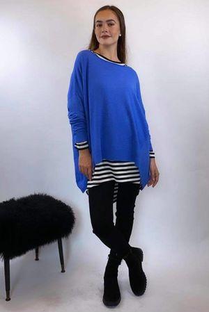 The Tilbury Archie Knit Cobalt