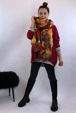 The Tilbury Slouch Knit Merlot