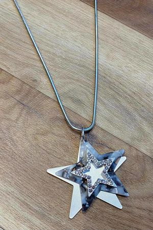 The Tri Star Necklace