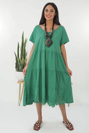 The Victoria Smock Tee Dress Plant
