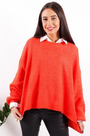 The Waffle Knit Tangerine
