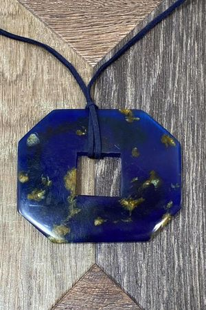 The Warhol Necklace Blue