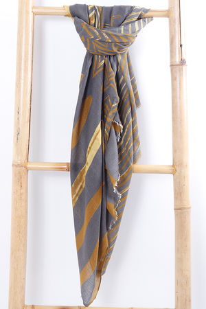 The Wave Scarf Mustard