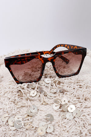 Tortoise Shell Sunglasses Brown