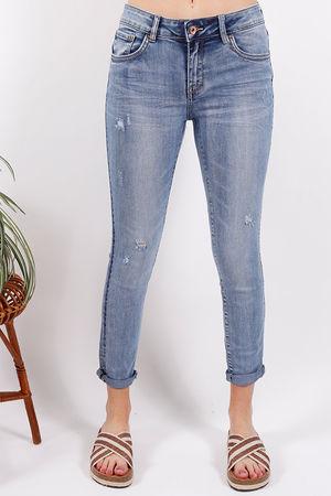 Toxic Distressed Skinny Jean