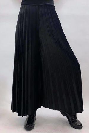 Velvet Culottes Black