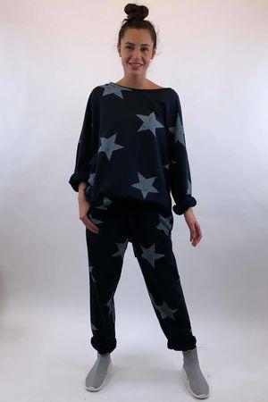 Vintage Star Sweat Black