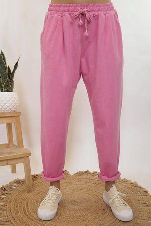 Vintage Wash Sweat Pants Candy
