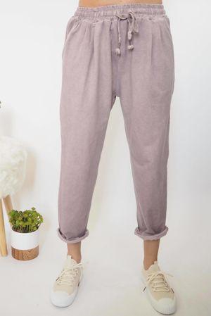 Vintage Wash Sweat Pants Dirty Blush