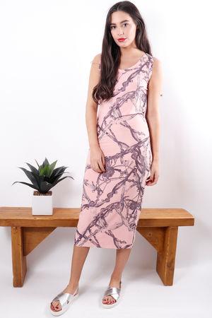 Vivie Maxi Dress Soft Sorbet