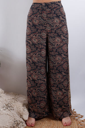 Zen Ethics Assam Printed Pants