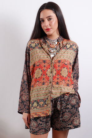 Zen Ethics Assam Printed Shirt
