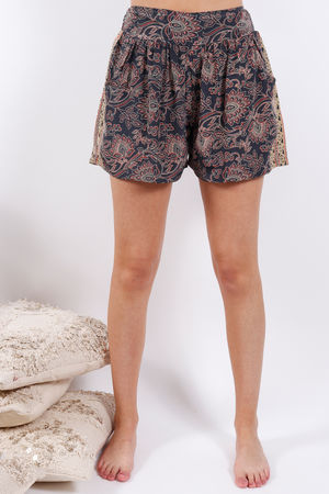 Zen Ethics Assam Printed Shorts