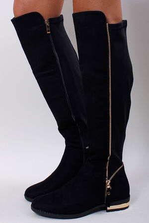 Zip Detailed Neoprene Back OTK Boot