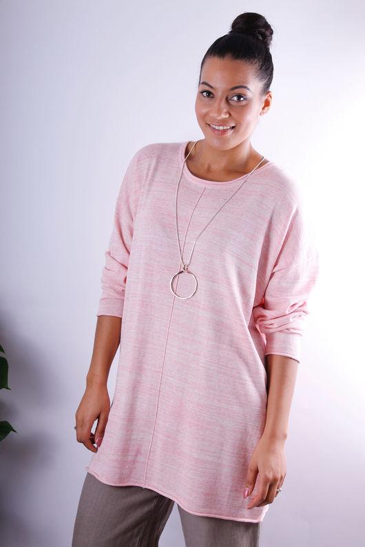 Adia Pink Marl Knit