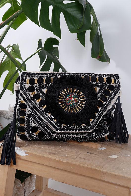 Alex-Max Mykonos Bag Black