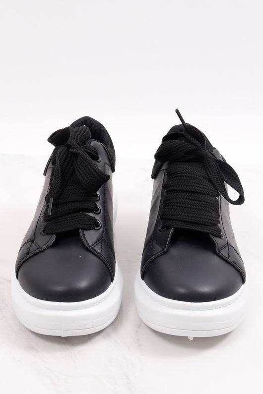 Alexander Flatform Sneaker All Black