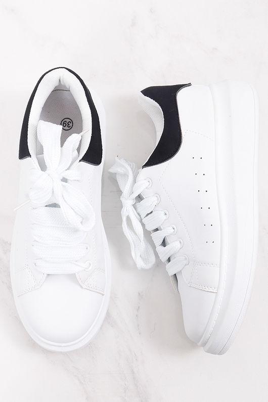 Alexander Flatform Sneaker Black