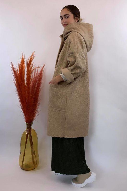 Boucle Benji Coat Beige