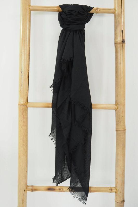 Classic Portobello Scarf Black