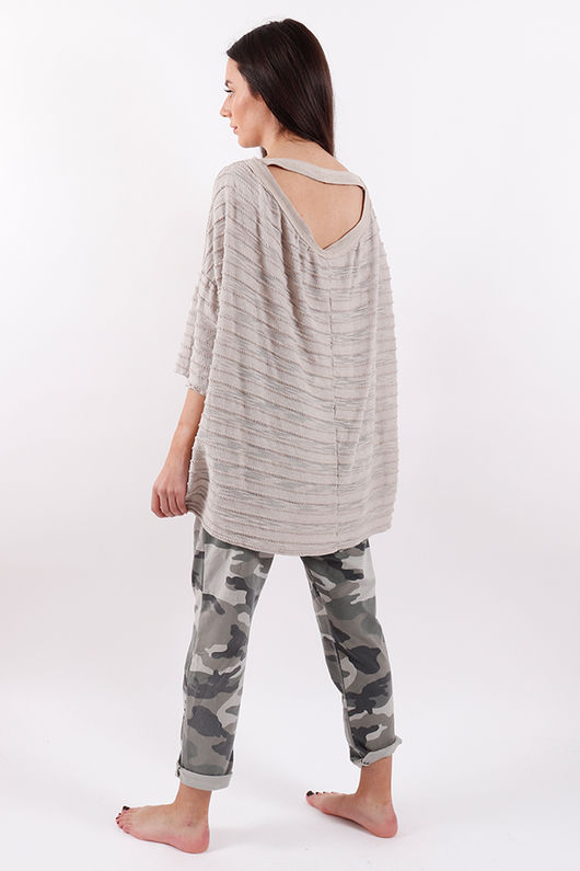 Seven Nations Keyhole Top Nude
