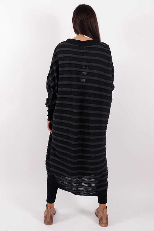 Copenhagen Textured Cardigan Black