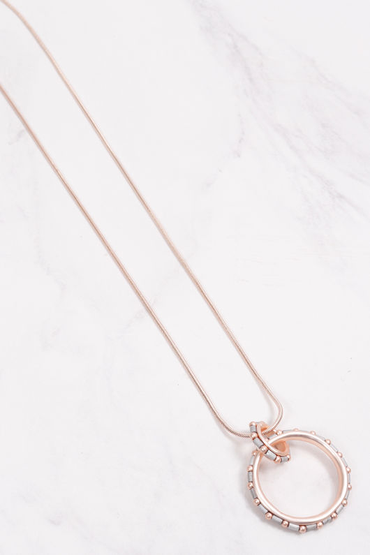 Disc Of Fortune Necklace Gold
