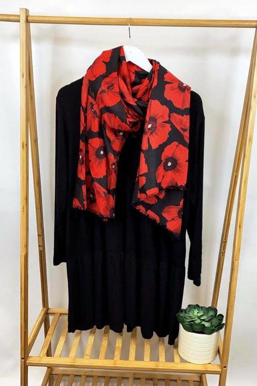 Fine Knit Marant Dress Black
