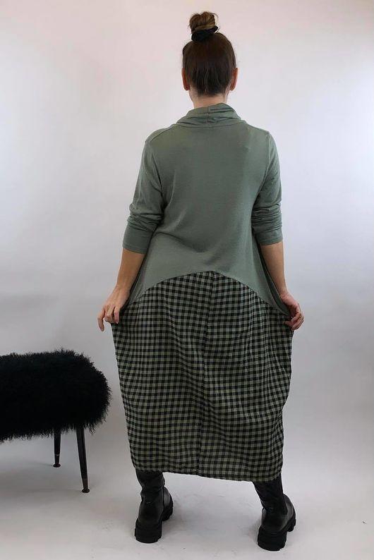 Fine Knit Scotch Soft Khaki