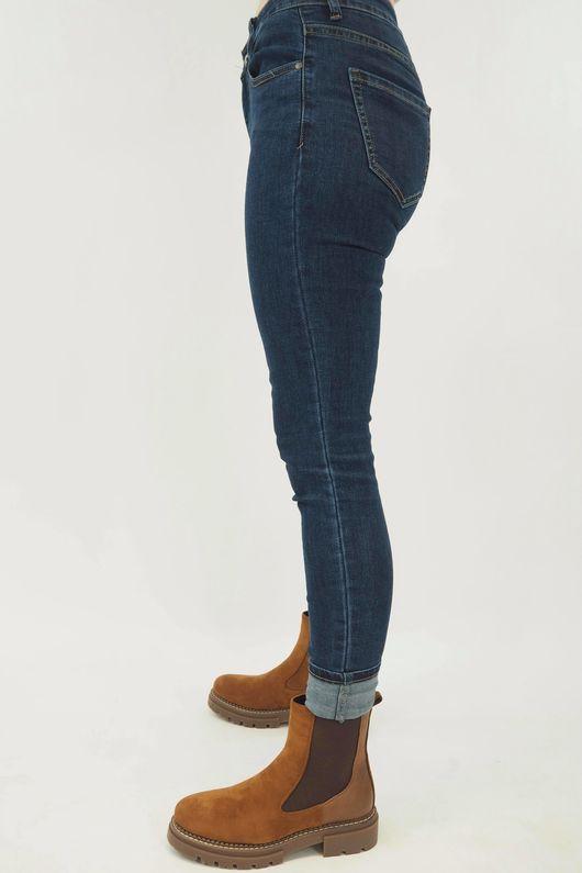 G Smack Classic Turn Up Jeans Denim