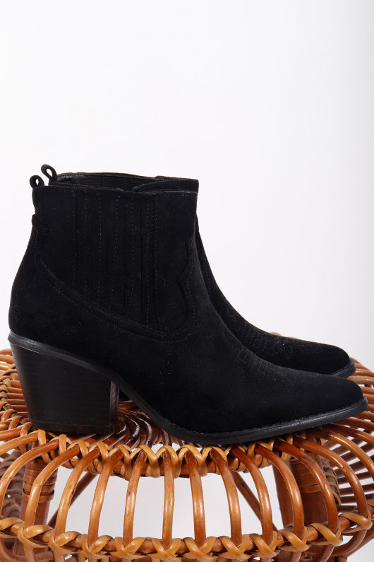 Gypsy Soul Western Boot Black